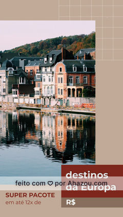 Conheça a Europa por um precinho que cabe no seu bolso! ?✈ #eurotrip #europa #viageminternacional #AhazouTravel  #agentedeviagens  #viagem  #agenciadeviagens  #trip