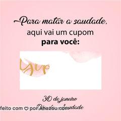 Porque para matar a saudade, vale tudo! ?  #diadasaudade #saudade #ahazou #cupomdedesconto #cupom