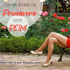 Fique com as pernas lindas para curtir a Primavera que acabou de chegar! ? #primavera #ahazouestetica #esteticacorporal #peim