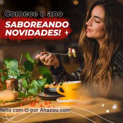 O ano é novo! E os sabores também podem ser! Faça seu pedido: (contato) #ahazoutaste  #eat #ilovefood  #instafood #foodlovers