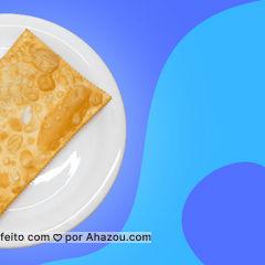 E aqui o pastel é do tamanho que você precisa. A fome tá muito grande? Então pede um pastel gigante.  #ahazoutaste  #pastel #pastelaria #pastelgigante