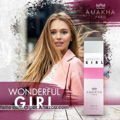 Wonderful Girl, nova fragrância da Amakha Paris! ❣   Já disponível em nossa loja virtual. ?  #AmakhaParis #AmakhaOficial  #AhazouAmakha #AmakhaCosmeticos #2019AnoDaAmakha #TremBala