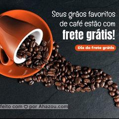 Garanta o café da semana (do mês ou da vida) sem se preocupar com a entrega! Corre, porque só vale por hoje.  #ahazoutaste  #cafeteria #café #coffee #barista #coffeelife