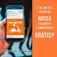 O que está esperando? Peça o nosso delivery que a entrega está gratuita!!  #ahazoutaste #restaurante #alacarte #foodlovers #selfservice #entrega #grátis #ahazoutaste
