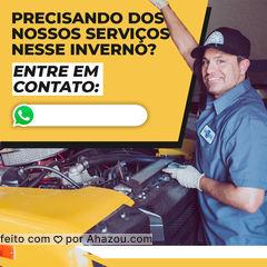 Aproveite esse inverno para cuidar do seu carro. Entre em contato!?? #carro #inverno #frio #serviços  #AhazouAuto