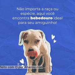 Cachorro, gato, roedor ou passarinho, aqui temos os melhores comedouros e bebedouros para seu pet! #petshoponline #petshop #delivery #AhazouPet #produtos #acessorios #brinquedos #alimentaçao #petlovers