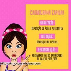 Entre em contato para fechar o seu pacote e cuidar das suas madeixas! ? #cronogramacapilar #ahazou #cabelo #hidratacao #reconstrucao