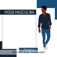 Andar sempre com um bom look requer muita dica de moda e ficar sempre atento nas novidades da loja, para a sua sorte nós sempre estamos lançando muitas. ? #AhazouFashion #modaparahomens #fashion #modamasculina #style #menswear #moda #estilo #novidade #masculino #roupas #loja #lançamento