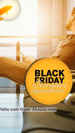 Vai sair de férias no fim do ano, ou já quer planejar sua viagem do ano que vem? ✈️ Aproveite a black friday e garanta descontos imperdíveis. ? #blackfriday #AhazouTravel #viagens #trip #agenciadeviagens #promoção #desconto