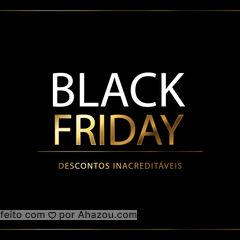 Os melhores descontos do ano você encontra só aqui, na nossa Black Friday! Aproveite o momento para presentear quem você ama, sem prejuízo no seu bolso! #blackfriday #ahazou  #promoção