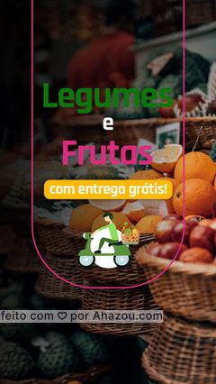 Aproveite nossa promoção!  Zeramos a taxa de entrega para melhor atendê-los. ?  #ahazoutaste  #hortifruti  #vidasaudavel  #frutas  #alimentacaosaudavel