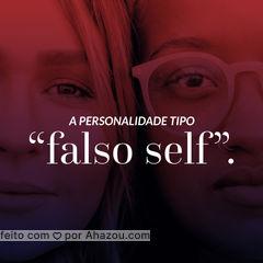 Também conhecido como self idealizado, self superficial e pseudo self. O falso Self, segundo Winnicott, é visto como uma fachada defensiva que deixa seus detentores sem espontaneidade. #Falso #AhazouSaude #Self