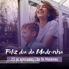 Quem tem uma Madrinha maravilhosa levanta a mão 🙋♂️🙋♀️ Declare o seu amor pela sua Madrinha.  25 de novembro - Dia da Madrinha. #ahazou #frasesmotivacionais  #motivacionais  #motivacional   #quote