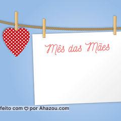 Use nosso editor para escrever sua mensagem ou promoção de Mês das Mães. :)
