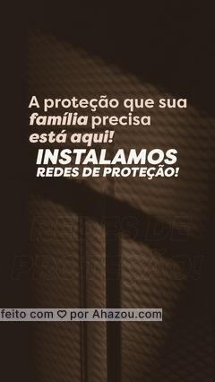 Sua família é seu maior bem, e a sua segurança é fundamental! Instalar redes de proteção, é um sinal de amor e carinho! Então não perca mais tempo, entre em contato 📞 (inserir número) e agenda a instalação das suas redes de proteção! #residencia #servico #atendimento #AhazouServiços #servicosparacasa #servicos #instalaçao #rededeproteçao #segurança