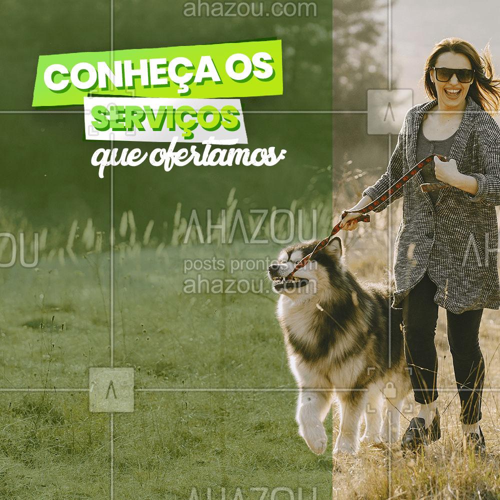 Seu pet cuidado com muito amor e brincadeiras!  #AhazouPet  #tabela #servicos #pet #cachorro #gato