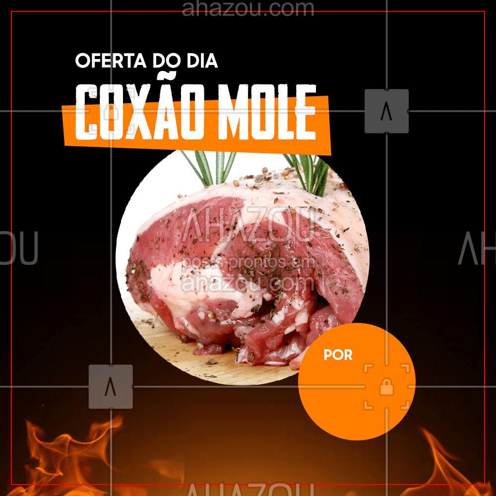 Que tal aproveitar a oferta do dia para fazer uma receita super gostosa par o almoço de hoje? Venha conferir! #churrasco #bbq #açougue #ahazoutaste #meatlover #carne #oferta #ofertadodia #promoção