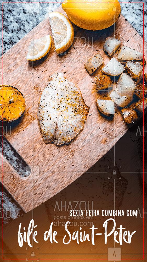 Seja grelhado ou empanado o filé de Saint-Peter é uma delícia. Aproveite a sexta-feira para prepara-lo para o seu almoço! #açougue #meatlover #ahazoutaste #tiposdecarne #suino #bovino #aves #peixes #frutosdomar #carne