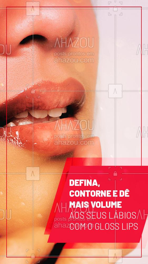 Experimente essa técnica que traz o tão desejado lábio mais carnudo sem exagerar no efeito! #AhazouBeauty  #bemestar #esteticafacial  #beleza #saúde #skincare