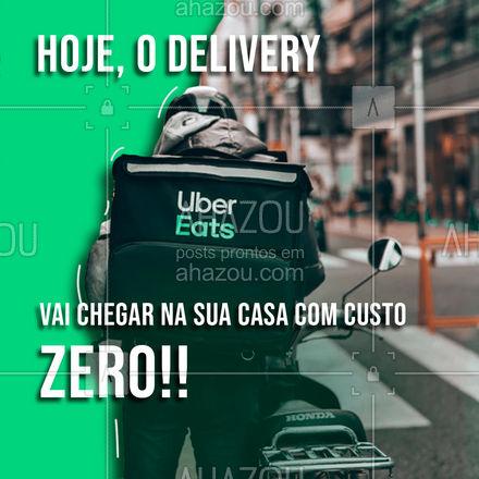 É isso mesmo!! A entrega é por NOSSA conta, só fazer o seu pedido!    #ahazoutaste  #restaurante #alacarte #foodlovers #selfservice #entrega #grátis #almoço #restaurante #delivery