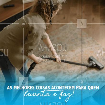 Bora levantar e fazer? está precisando de um reparo na casa? Chame a gente resolvemos isso pra você.  #AhazouServiços #casa #servicos #limpeza #reparos