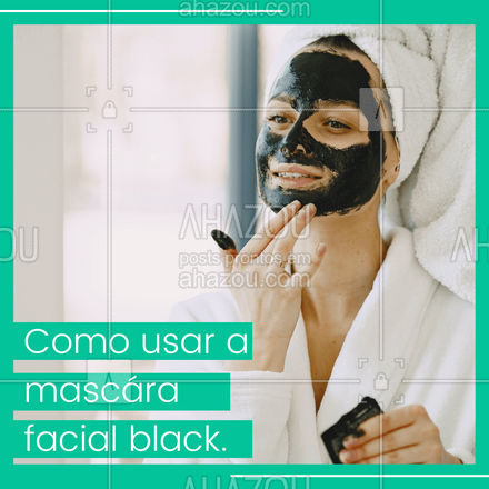 1- Lave o rosto com sabonete específico para sua pele; 2- Aplique o produto nos dedos e leve ao rosto, espalhando uniformemente; 3- Espalhe por todo o rosto, exceto na área em volta dos olhos e sobrancelhas; 4- Espere secar por volta de 30 minutos; 5- Com ela seca, comece a retirar das bordas para o centro. #AhazouRevenda #prontaentrega  #revendadeprodutos  #catalogo  #novidades  #revendedoras  #consultoradebeleza  #marcas  #produtos  #produtosdebeleza  #revendademaquiagem  #revenda  #encomenda  #consultora