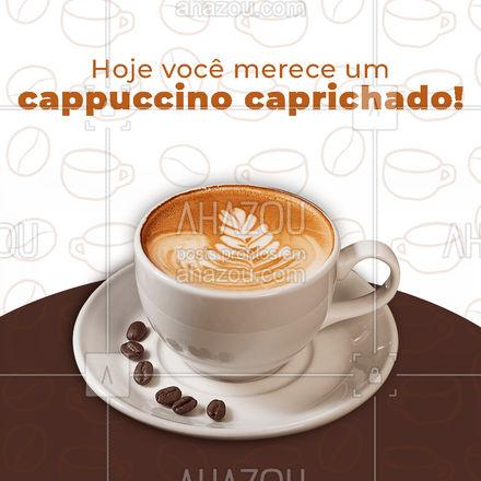 Você merece e nós estamos mais do que dispostos a te ajudar com isso! Ligue e faça seu pedido ? #cappuccino #café #expresso #ahazoutaste  #cafeteria