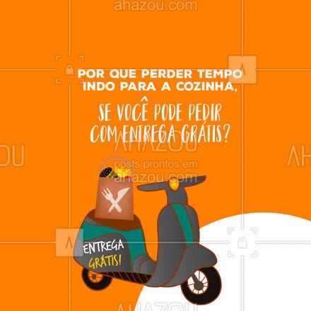 Não perca tempo e peça seu delivery! #ahazoutaste  #gastronomy #gastronomia #culinaria #entregrátis #deliverygrátis #delivery #entrega