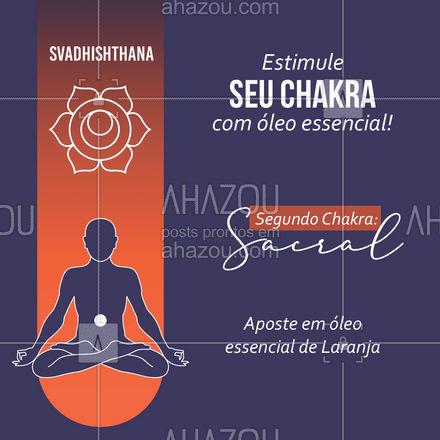 Aposte em energias cítricas para ajudar no contato com o segundo chakra! #espiritualidade #bemestar #terapiascomplementares #energia #AhazouSaude #AhazouFé #pedras #energetico #autoestima #fe #AhazouSaude #AhazouFé #AhazouSaude #AhazouFé