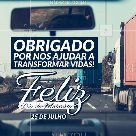 Aqueles que carregam vidas e as transformam, parabéns pelo seu dia! #AhazouAuto #automotivos #carros #esteticaautomotiva #automotiva #eletricadecarros #instalacao #automotiva #servicosautomotivos