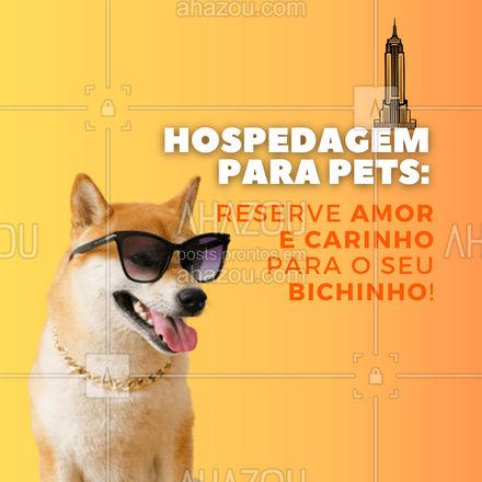 Nosso serviço de petsitter garante ao seu bichinho de estimação muito amor e carinho enquando você está fora! Reserve o amor e cuidados que seu pet merece! ? #AhazouPet #dogsitter   #dogtraining  #dogwalk  #petsitter  #dogwalkerlife