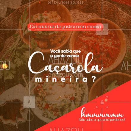 Garante essa maravilha pro seu café da tarde.?#ahazoutaste  #minas #mg #minasgerais #gastronomiamineira #Dianacionaldagastronomiamineira #ahazoutaste #caçarola #caçarolamineira