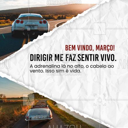 A adrenalina de estar na estrada combina com a adrenalina de viver a vida intensamente! #AhazouAuto  #esteticaautomotiva #carros #lavajato #automotiva #eletricaautomotiva #carros #automotiva #mecanicaautomotiva #automotivo #mecanica #carros