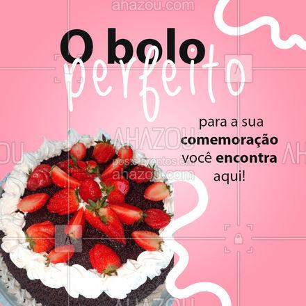 Faça sua encomenda e garanta o bolo perfeito para você! ? ? #Confeitaria #BolodeFesta #ahazoutaste #Bolo #BoloDecorado