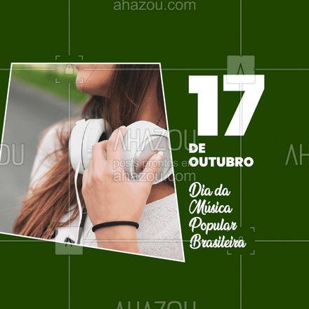 Hoje é dia da MPB, e esta data celebra e homenageia o nascimento da primeira compositora oficial da Música Popular Brasileira: Chiquinha Gonzaga, que nasceu em 17 de outubro de 1847, no Rio de Janeiro. Viva a música popular brasileira! #mpb #chiquinhagonzaga #ahazou  #motivacionais