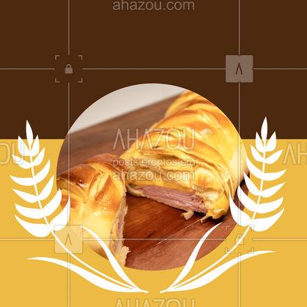 Uma ótima opção de café da manhã é os nossos pães recheados, com gostinho de quero mais é impossível comer só um ? #ahazoutaste #pãorecheado #recheados #cafés #cafedamanha