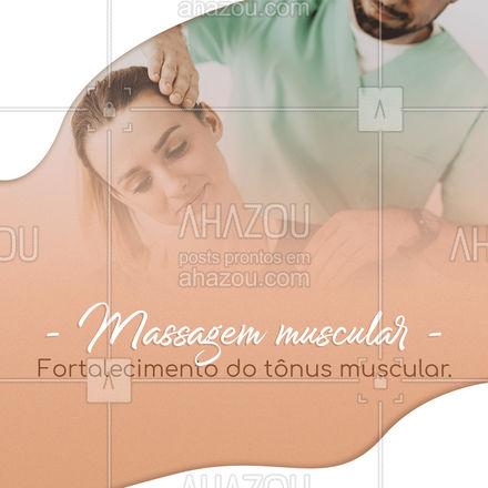 Agende seu horário e aproveite os benefícios da Massagem Muscular! #AhazouSaude #massagemmuscular #massagem  #relax  #massoterapeuta  #massoterapia
