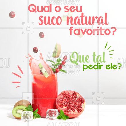 Suco sempre cai bem né!??  #ahazoutaste #eat  #instafood  #foodlovers  #suco #misturadesuco