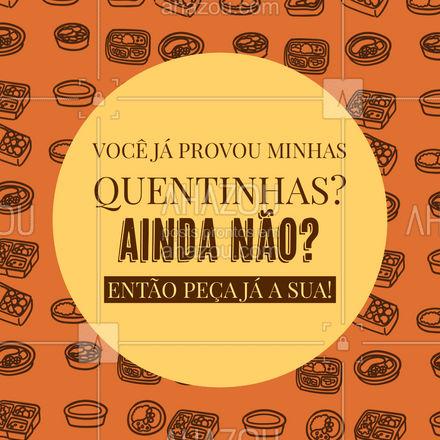 Ingredientes de qualidade e tudo feito com muito carinho, especialmente para você! Entre em contato e peça já a sua quentinha! #marmitex #marmitando #comidacaseira #ahazoutaste #comidadeverdade #marmitas #quentinha #quentinhas
