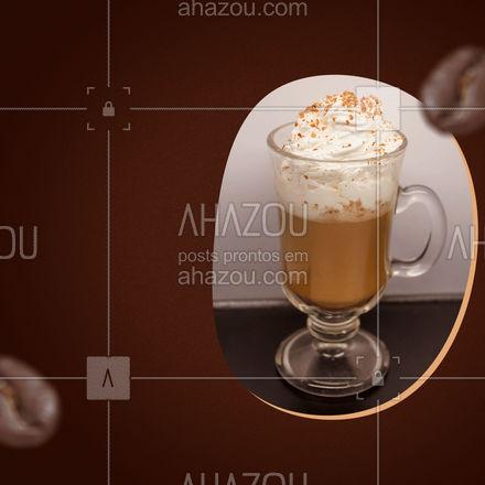Cappuccino delicioso e quentinho é aqui, venha provar! ☕ #ahazoutaste #cafeteria #café #coffee #barista #coffeelife #cappuccino