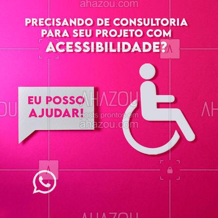 Entre em contato e eu vou te ajudar com tudo que você precisa para seu projeto com acessibilidade se um sucesso! #arquitetura #arquiteto #projeto #AhazouDecora #AhazouArquitetura #acessibilidade #projetos