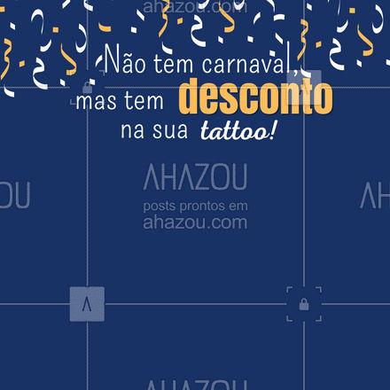 É de desconto que adulto gosta! Aproveite essa promoção e agende sua sessão! Contato pelo número (xx) xxxx-xxxx #AhazouInk  #tattoo