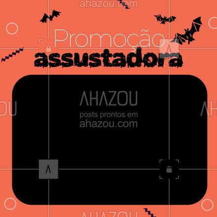 Venha nos visitar e conferir as promoções que preparamos nessa data super divertida. #ahazou  #promoção