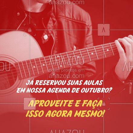 Temos agenda aberta para Outubro, aproveite! 📚 #AhazouEdu #aulasdeingles #aulasdeespanhol #aulaparticular #professordemusica #música #aulademusica