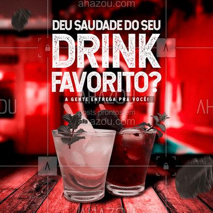 Entre em contato e confira todas as opções de delivery do nosso cardápio!  #ahazoutaste  #bar #mixology #pub #cocktails #lounge #drinks