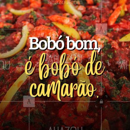Já provou o nosso delicioso bobó de camarão? Então não perca mais tempo. Todo o sabor do bobó com gostinho de camarão. Vai querer? #ahazoutaste #bobódecamarão #camarão