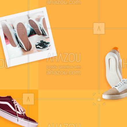 O estilo e conforto você encontra aqui! Aproveite nossa linha de calçados em promoção de dia dos pais. 👞💙👟  #AhazouFashion  #fashion #style #moda #diadospais #calçados #promoção
