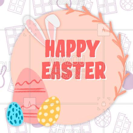 Wishing to all students a happy Easter! #happyeaster #pascoa #felizpascoa #AhazouEdu #aulasdeingles #aulaparticular #aulaemgrupo