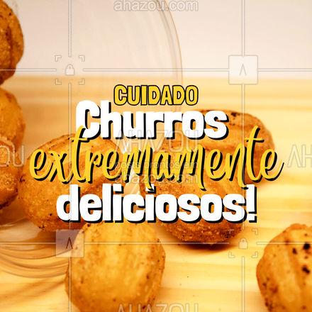 Você corre o risco de se viciar, mas vale muito a pena! ?? #sobremesa #churros #ahazoutaste  #comidamexicana  #cozinhamexicana  #vivamexico