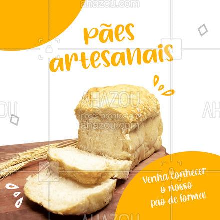Se você procura qualidade e sabor, é aqui que você encontra! Trabalhamos com pães artesanais. Venha experimentar o nosso pão de forma! Você vai se encantar do início ao fim! #ahazoutaste #paodeforma #padariaartesanal #pãoquentinho #panificadora #bakery #confeitaria